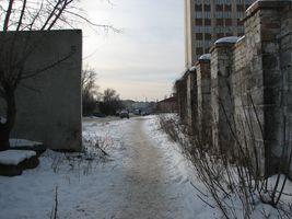 Дорога повз ДарТЕЦ