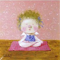 Падмасана (поза лотоса). Эта поза воздействует успокаивающе на сознание и помогает его обратить вовнутрь. Пребывание в Падмасане помогает избавиться от лени и сонливости.