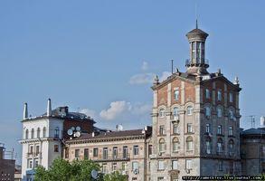 Круглоуниверситетская, также № 13. Самая вытянутая в высоту из всех башен. Попасть внутрь не удалось, так как находится в частном владении.