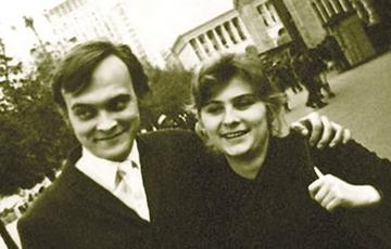 Иван Миколайчук с женой Маричкой