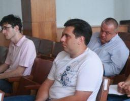 На задньому плані праворуч - Олександр Міщенко