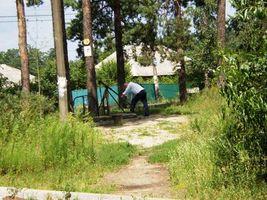 Бюветы ДВРЗ. Работающая скважина возле дома №26 по улице Марганецкой