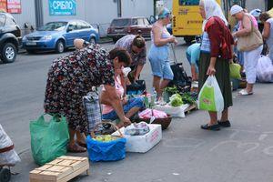 Рейд проти стихійної торгівлі на Березняках
