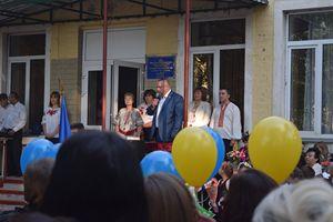Олександр Міщенко відвідав школи