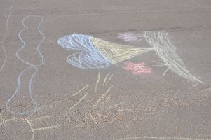 Конкурс малюнку на асфальті