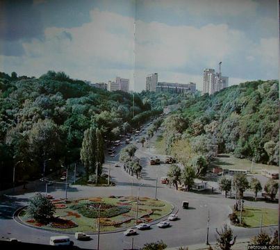 Площа Героїв Великої Вітчизняної війни, 1989 рік