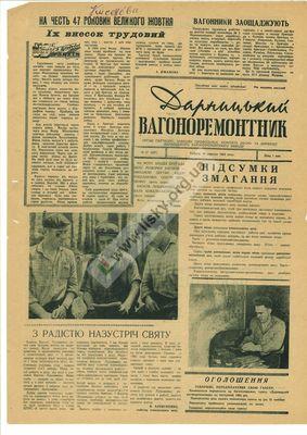 Історія Києва: заводські багатотиражки