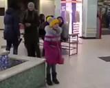 Гімн України в українському місті