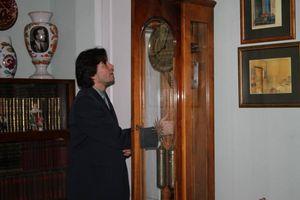 Євген Нищук в музеї Павла Тичини