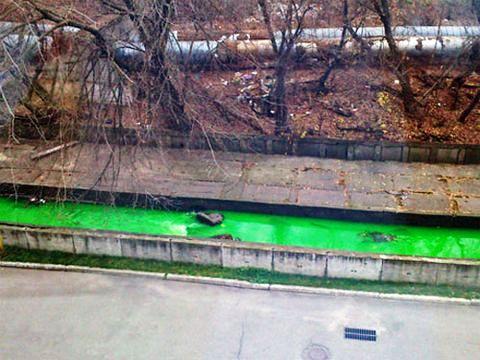 23 листопада 2012 року, річка Либідь