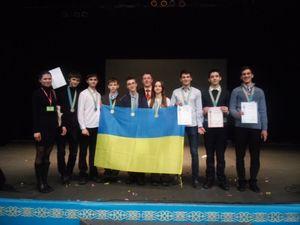 Українські школярі завоювали 8 медалей на міжнародній олімпіаді в Казахстані
