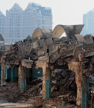 Руины Сенного рынка