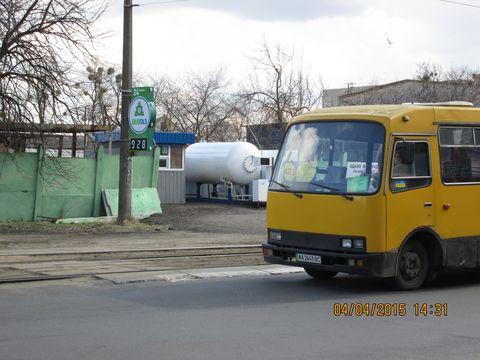 Новая газовая заправка на Бакалее (ДВРЗ)