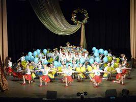Звітний концерт Дніпряночки