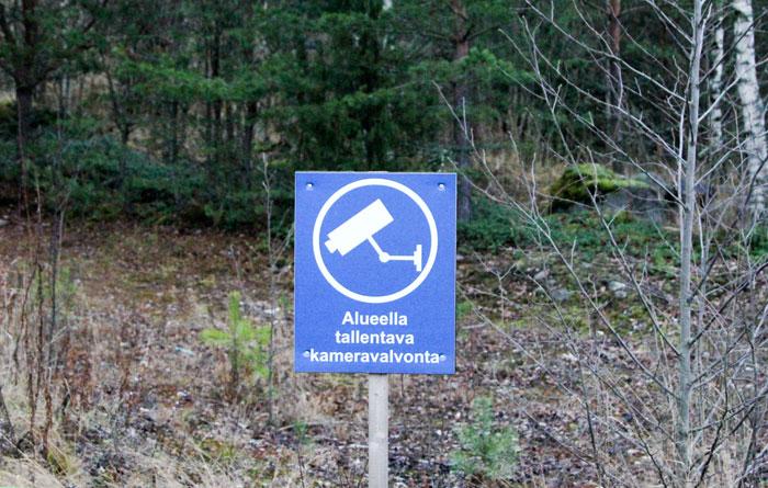 Фотоловушки в Финляндии