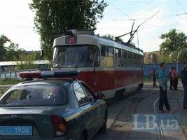 В трамвае №23 травмирована пассажирка