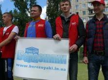 На Березняках стартував чемпіонат із дворового футболу.