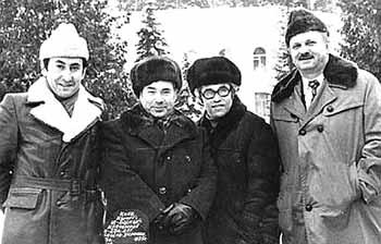 Каневский, Штепсель, Виккерс, Тарапунька