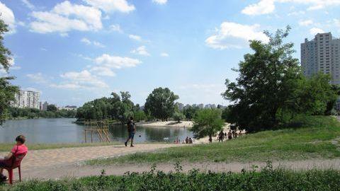 Озеро Тельбин на Березняках