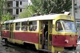 В Старой Дарнице столкнулись два трамвая, пострадала пассажирка