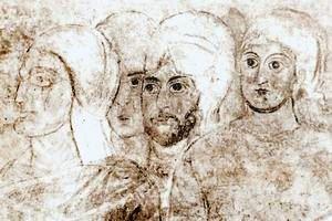 Прижизненный портрет князя Владимира Великого (крайний слева)