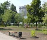 Оновлено сквер на Ленінградській площі