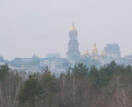 Лицом к Лавре. Памятник Гоголю в Киеве