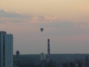Воздушный шар над ДВРЗ