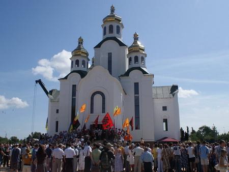 Церква, побудована за проектом архітектора Рогожина