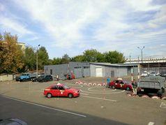 Змагання інструкторів з фігурного водіння автомобіля