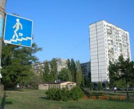 Сердитый пешеход на Березняках