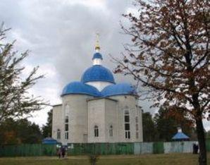 Храм св.Пантелеймона у парку Сосновому на ДВРЗ