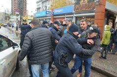 Киевляне мешают полиции наводить порядок
