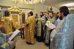 До храму на ДВРЗ прибула Зимненська ікона Божої Матері