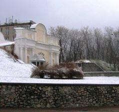 Первый снег в Киеве