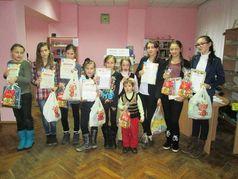 Конкурс дитячих творчих робіт у бібліотеці №16