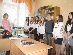 Новорічні віншування у школі №42