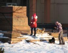 Порожній постамент від пам'ятника Леніну