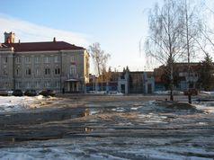 Площа перед прохідною ДВРЗ
