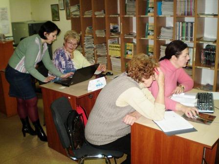 У відділі автоматизації бібліотечних процесів