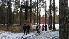Перша прогулянка новим лісовим маршрутом