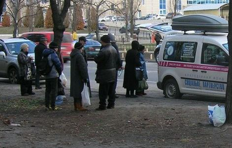 Допомога знедоленим на Березняках