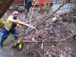 У Києві розчищають русла малих річок