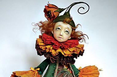 На Левобережной пройдет выставка авторских кукол