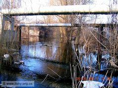 Річка Дарниця в Києві