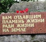 Покладання квітів до Пам'ятного знаку робітникам ДВРЗ