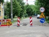 Сьогодні залатали дорогу на вулиці Волховській