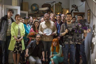 Творческий коллектив перед началом съемок