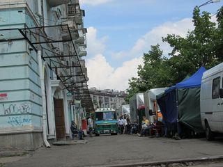 Съёмки фильма на улице Волховской, микрорайон ДВРЗ