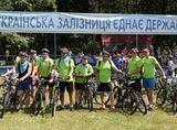 Дарницький вагоноремонтний завод взяв участь у велопробігу